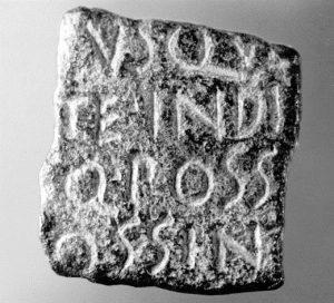 fragment bronze roman
